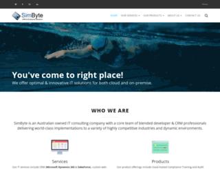 simbyte.com.au screenshot