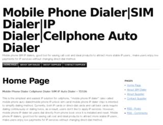 simdialer.mlblogs.com screenshot