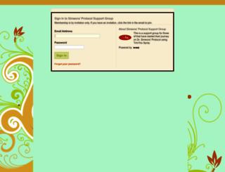 simeonsprotocol.org screenshot