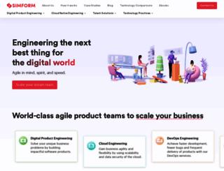 simformsolutions.com screenshot