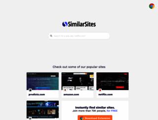 similarsites.com screenshot