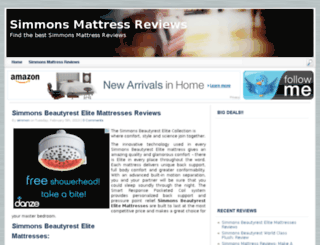 simmonsmattressreviews.net screenshot