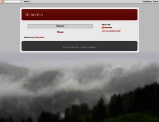 simomin.blogspot.com screenshot