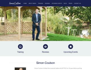 simon-coulson.com screenshot