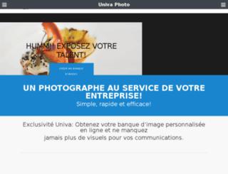 simonbourque.com screenshot