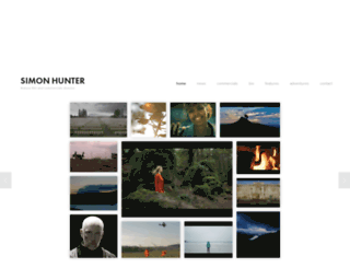 simonhunter.com screenshot