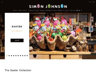 simonjohnson.com screenshot