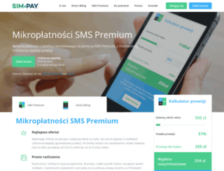 simpay.pl screenshot