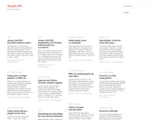 simplapi.wordpress.com screenshot
