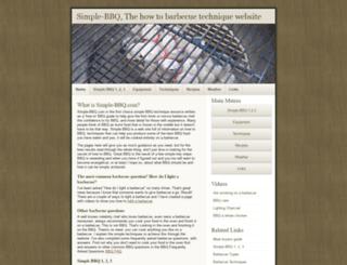 simple-bbq.com screenshot