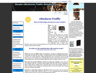 simple-ebusiness-traffic-solutions.com screenshot