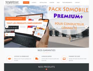 simpledriver.com screenshot