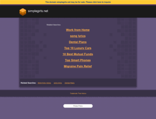 simplegirls.net screenshot