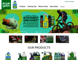 simplegreen.com screenshot
