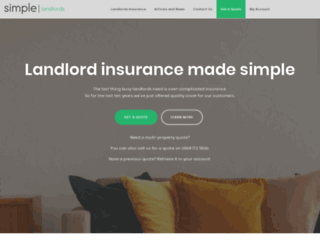 simpleinsurance.com screenshot