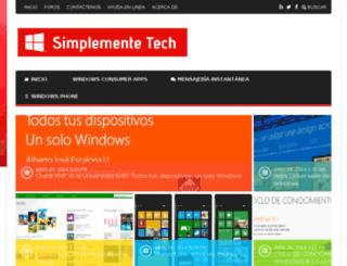 simplementetech.wordpress.com screenshot