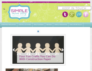 simplemomblog.com screenshot