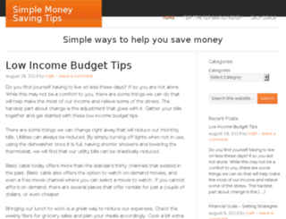simplemoneysavingtips.com screenshot