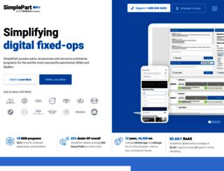 simplepart.com screenshot