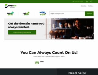 simplesitedesigns.com screenshot