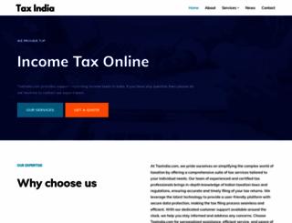simpletaxindia.org screenshot