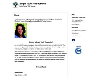simpletouch.abmp.com screenshot