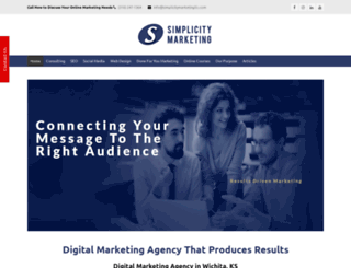 simplicitymarketingllc.com screenshot