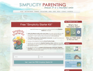 simplicityparenting.com screenshot