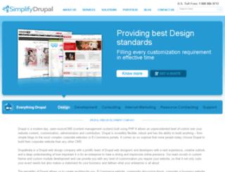 simplifydrupal.com screenshot