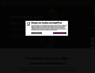 simplitv.at screenshot