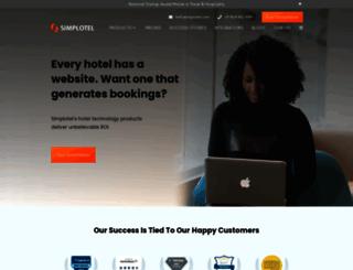 simplotel.com screenshot