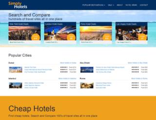 simply-hotels.com screenshot