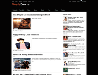 simply4dreams.blogspot.com screenshot