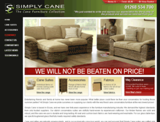 simplycane.co.uk screenshot