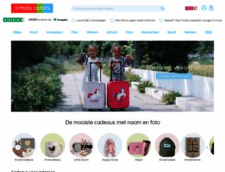 simplycolors.nl screenshot