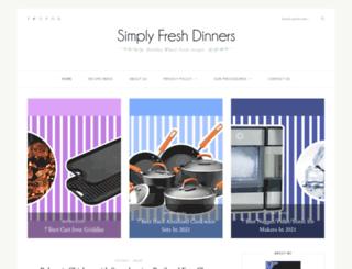 simplyfreshdinners.blogspot.ca screenshot