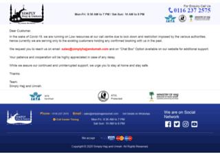 simplyhajjandumrah.com screenshot