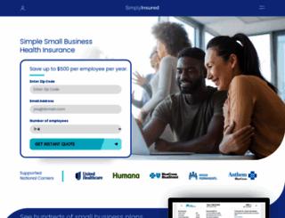 simplyinsured.com screenshot