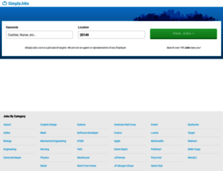 simplyjobs.com screenshot