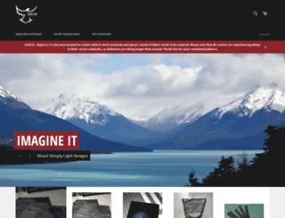 simplylightdesigns.com screenshot