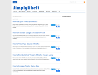 simplylikeit.com screenshot