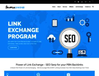 simplylinking.com screenshot