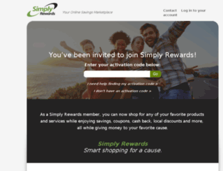 simplyrewards.com screenshot
