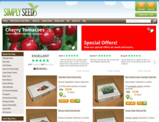 simplyseed.co.uk screenshot