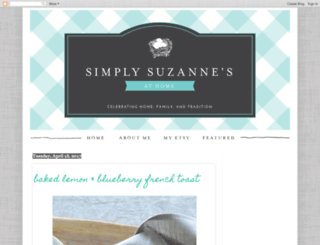 simplysuzannes.blogspot.com screenshot