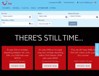 simplytravel.co.uk screenshot