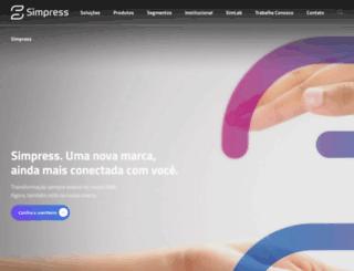 simpress.com.br screenshot