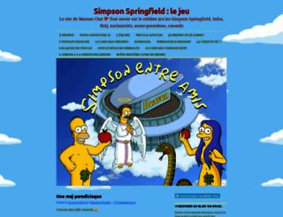 simpsonentreamis.wordpress.com screenshot