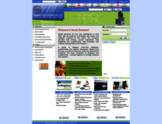 simriksolutions.com screenshot
