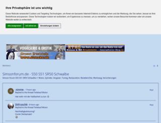simsonforum.de screenshot
